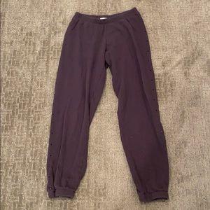 LNA Sequin sweatpants